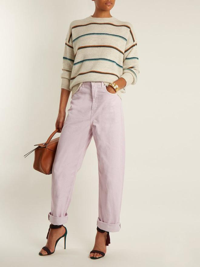 Zara cùng loạt thương hiệu khác lăng xê nhiệt tình mẫu quần jeans sắc màu trong hè này - Ảnh 11.