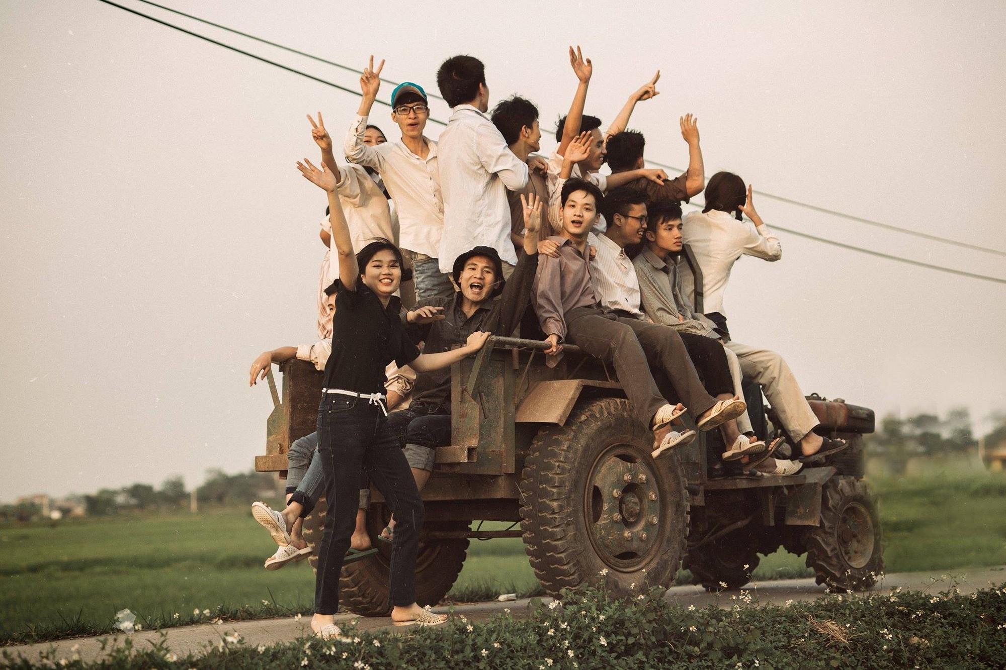 Xem kỷ yếu của nhóm học sinh Ninh Bình mà cứ ngỡ đang thưởng thức phim đi tranh giải Cánh diều vàng - Ảnh 6.