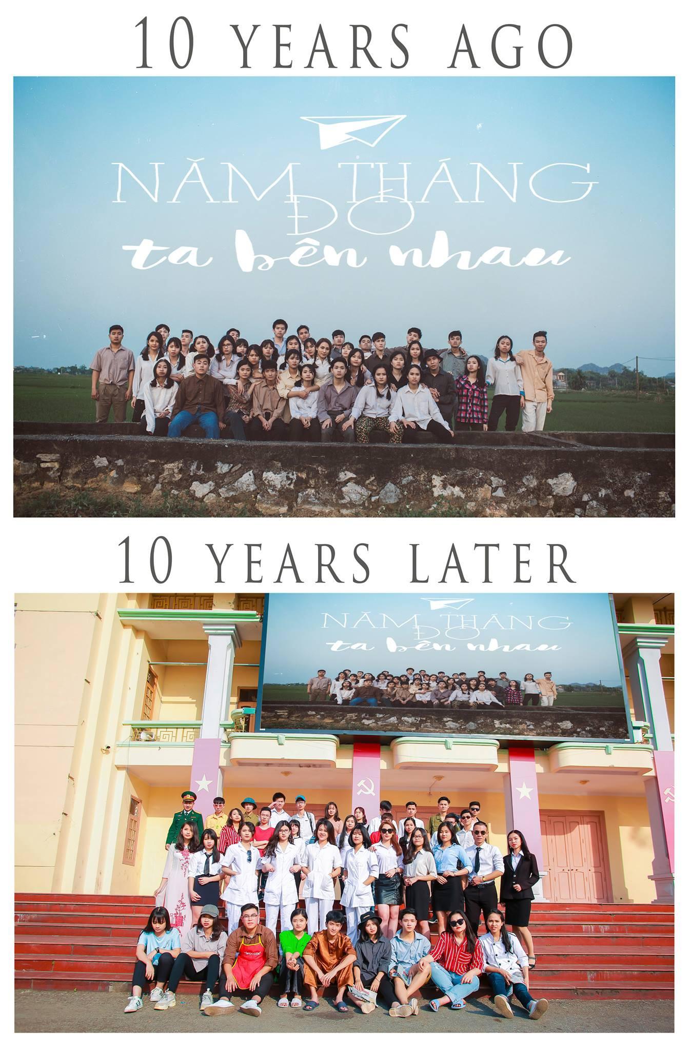 Xem kỷ yếu của nhóm học sinh Ninh Bình mà cứ ngỡ đang thưởng thức phim đi tranh giải Cánh diều vàng - Ảnh 2.