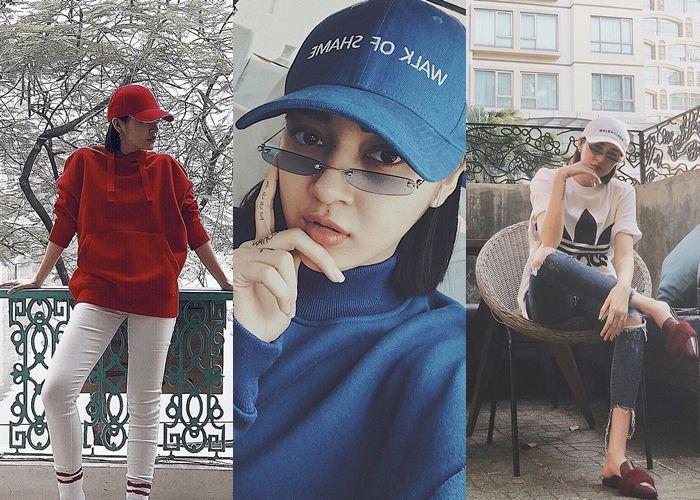 Sao Việt thi nhau diện mũ lưỡi trai
