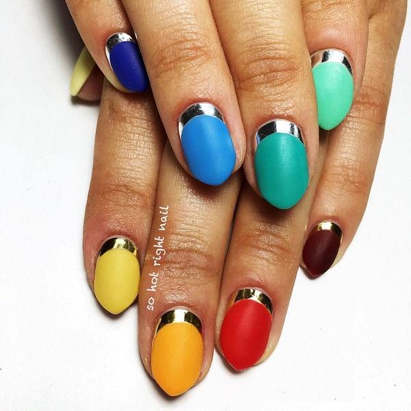 Gợi ý 12 mẫu nail cho cô nàng yêu thích phong cách nổi bật mùa hè 2018 2