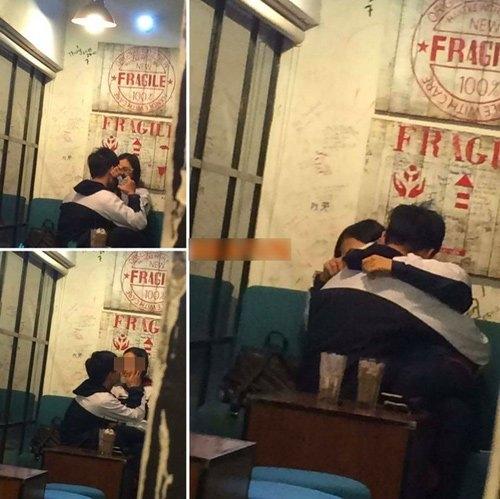 Hai em học sinh ôm hôn nhau ở quán nước khiến cộng đồng mạng dậy sóng một thời gian