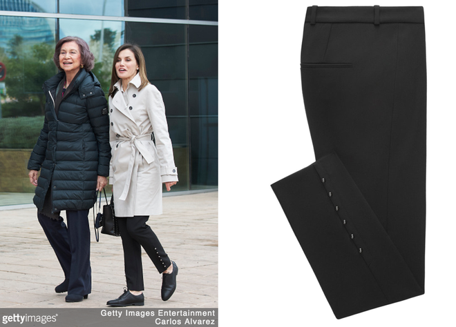 Trang phục giúp Hoàng hậu Letizia tỏa sáng không thể thiếu những món đồ đến từ thương hiệu Zara  - Ảnh 2.