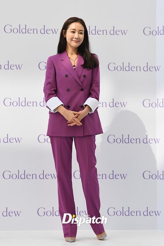 Lần đầu xuất hiện chính thức sau cưới, đại mỹ nhân Choi Ji Woo như bà hoàng tại sự kiện - Ảnh 4.