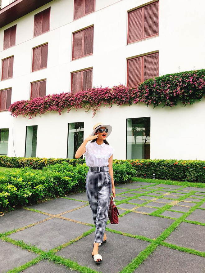 Tuần của màu hồng: Sao Việt ăn diện gọn nhẹ, thoải mái trong khi sao thế giới lên đồ cool hết nấc! - Ảnh 4.
