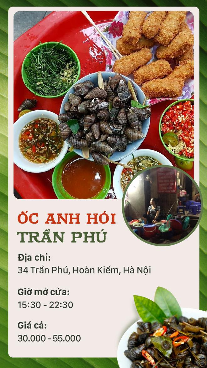 Buổi tối mát trời thì tranh thủ rủ nhau đi ăn ốc thôi, có cả list quán ở Hà Nội rồi đây - Ảnh 4.