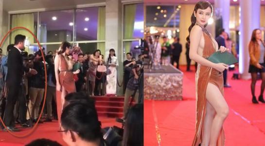 Sao Vbiz và những lần muối mặt vì bị mời khỏi thảm đỏ: Bất ngờ với lý do của Angela Phương Trinh, Kyo York - Ảnh 3.