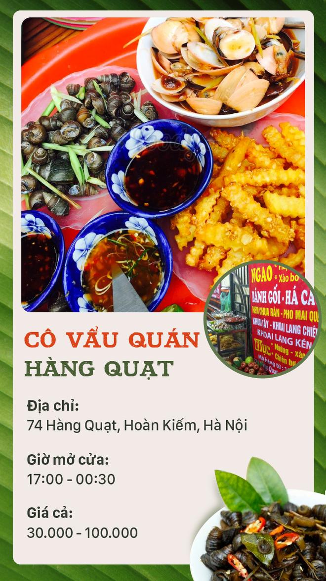 Buổi tối mát trời thì tranh thủ rủ nhau đi ăn ốc thôi, có cả list quán ở Hà Nội rồi đây - Ảnh 2.
