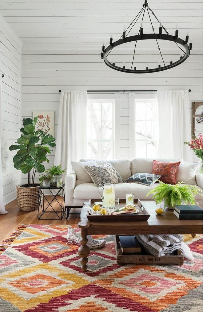 Mỗi khi hè sang là nhà nhà lại muốn có một căn phòng khách như thế này - Ảnh 2.