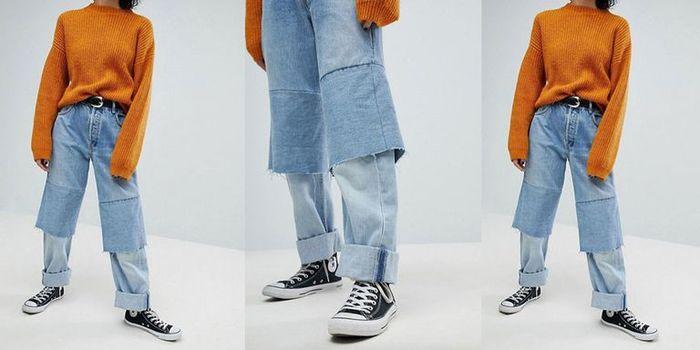 Những mẫu quần jean vừa quái đản vừa đắt mà vẫn