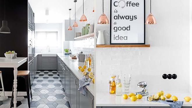 Đừng ngại nhà bếp nhỏ mà bỏ qua những chiếc đèn trang trí siêu xinh dưới đây - Ảnh 3.