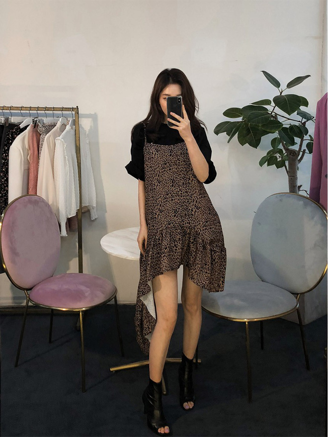 Thỏa mãn mọi cá tính và gu ăn mặc, chẳng trách váy bất đối xứng khiến bao quý cô mê mẩn rồi muốn diện cho bằng được - Ảnh 9.