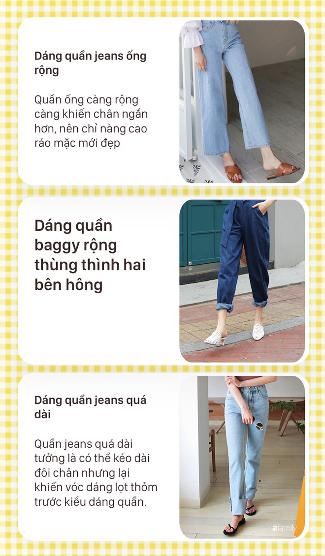 Nàng nào chân ngắn thử ngay mấy dáng quần jeans này, nhìn cao thêm cả chục phân chứ chẳng ít  - Ảnh 3.