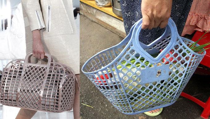 Chị em lại rần rần với chiếc túi hiệu trông như túi cói Việt Nam