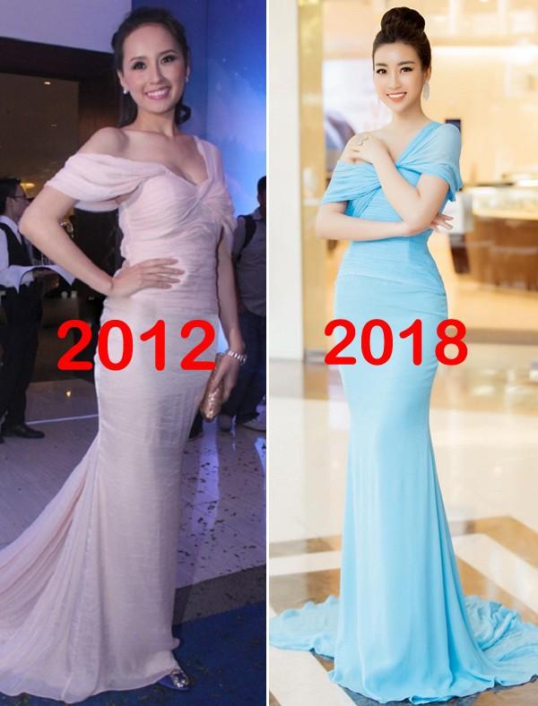 Bộ cánh mới nhất của Hoa hậu Mỹ Linh giống váy hiệu từ 6 năm trước của Mai Phương Thuý đến lạ - Ảnh 5.