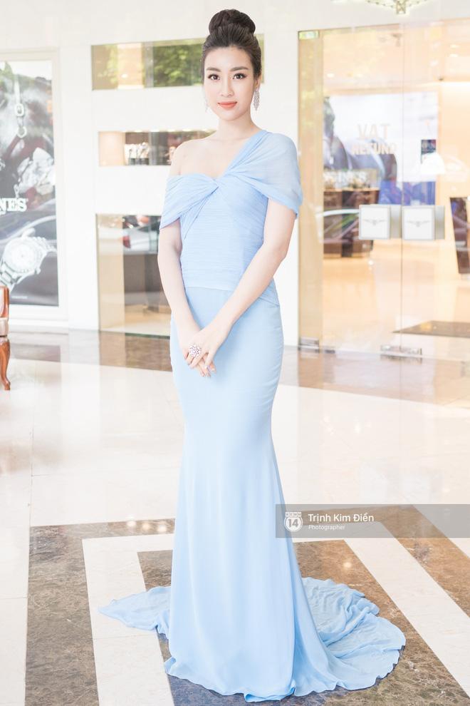 Bộ cánh mới nhất của Hoa hậu Mỹ Linh giống váy hiệu từ 6 năm trước của Mai Phương Thuý đến lạ - Ảnh 2.