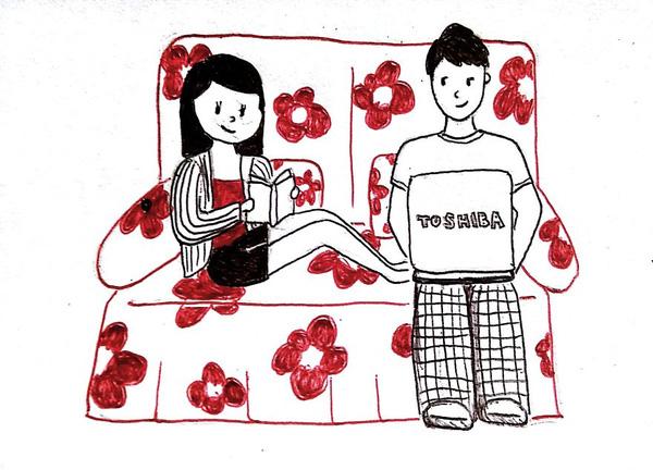 Bộ tranh: Nghẹn ngào trước nỗi lòng của những cô gái yêu xa