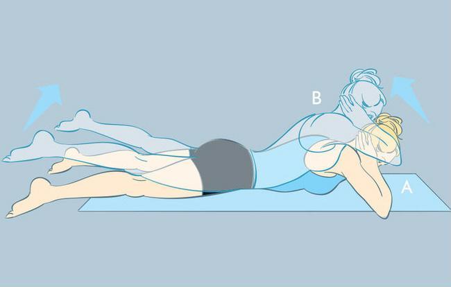 5 động tác thể dục đơn giản giúp bạn nhanh chóng có được vòng 2 phẳng lì ảnh 4