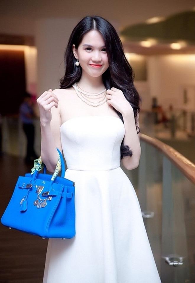 Ngọc Trinh diện váy bồng bềnh hóa công chúa nhưng kiểu tóc này lại làm lộ gương mặt tròn xoe - Ảnh 6.