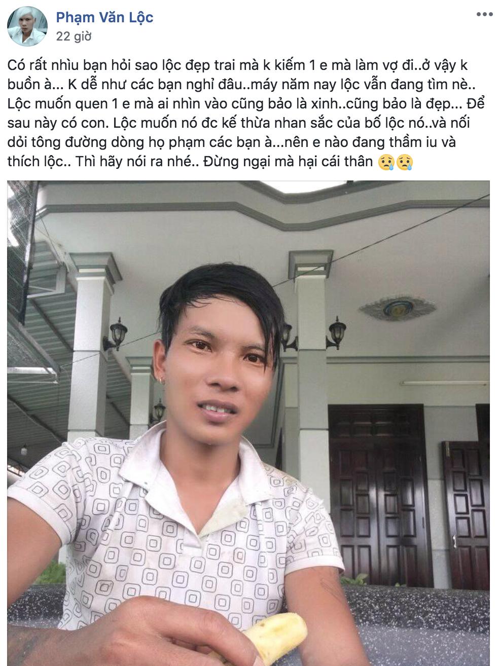 Lộc idol - chàng thợ hồ khí chất nhất Facebook đang khiến dân tình tự nguyện làm fan là ai? - Ảnh 5.