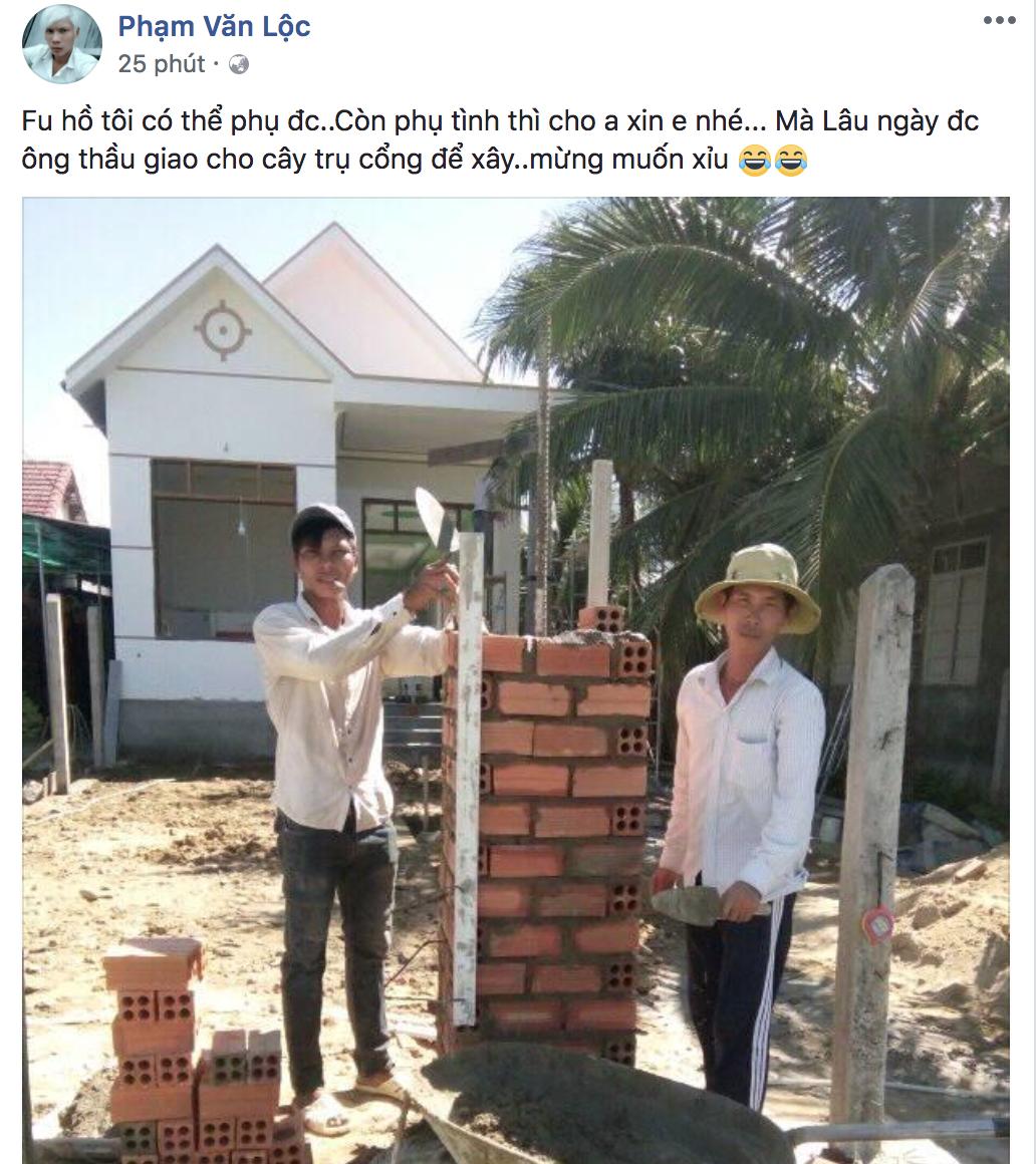 Lộc idol - chàng thợ hồ khí chất nhất Facebook đang khiến dân tình tự nguyện làm fan là ai? - Ảnh 4.