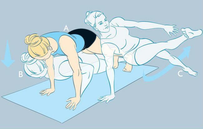 5 động tác thể dục đơn giản giúp bạn nhanh chóng có được vòng 2 phẳng lì ảnh 2
