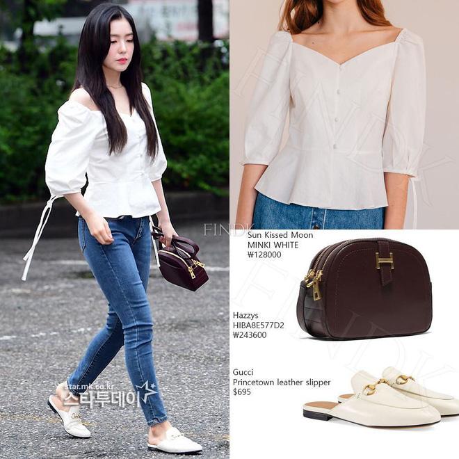 Cùng chung ý tưởng khi diện chiếc áo này, Park Min Young và Irene khiến fan khó phân định được ai đẹp hơn  - Ảnh 3.