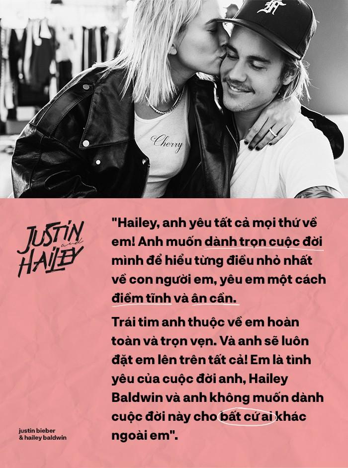 Justin Bieber - Hailey Baldwin: Bão đã dừng sau cánh cửa để đón hạnh phúc nhỏ cho chàng Don Juan - Ảnh 7.