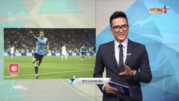 Chí Nhân bất ngờ xuất hiện trong vai trò mới - BTV thể thao.