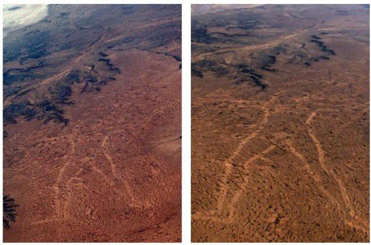 Marree Man - Hình vẽ thổ dân khổng lồ trên sa mạc Úc có thể nhìn thấy từ vũ trụ hơn 20 năm qua vẫn là một câu đố làm các nhà khoa học điên đầu - Ảnh 3.