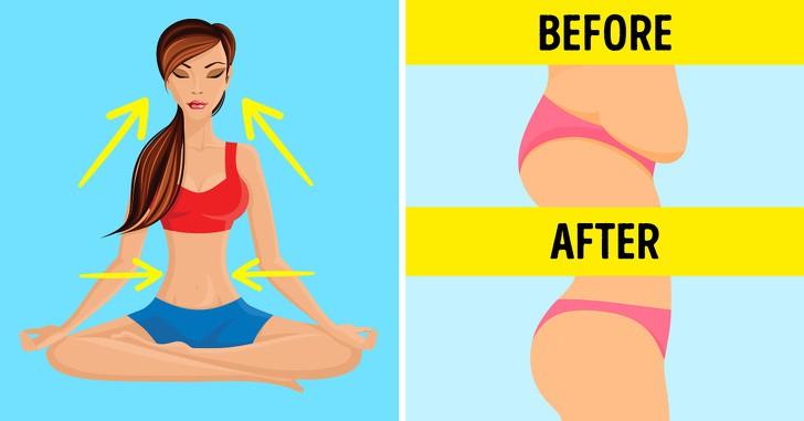 Biết thở theo 8 cách này thì không cần tập gập bụng vẫn đốt mỡ bụng đến không ngờ - Ảnh 1.