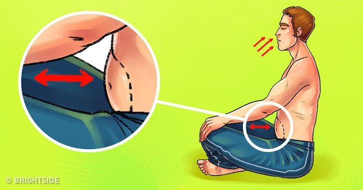 Biết thở theo 8 cách này thì không cần tập gập bụng vẫn đốt mỡ bụng đến không ngờ - Ảnh 10.
