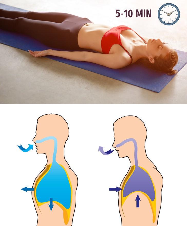 Biết thở theo 8 cách này thì không cần tập gập bụng vẫn đốt mỡ bụng đến không ngờ - Ảnh 2.