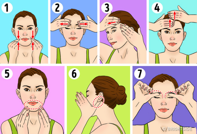 Học phụ nữ Nhật cách massage mặt giúp trông trẻ trung hơn tuổi thật