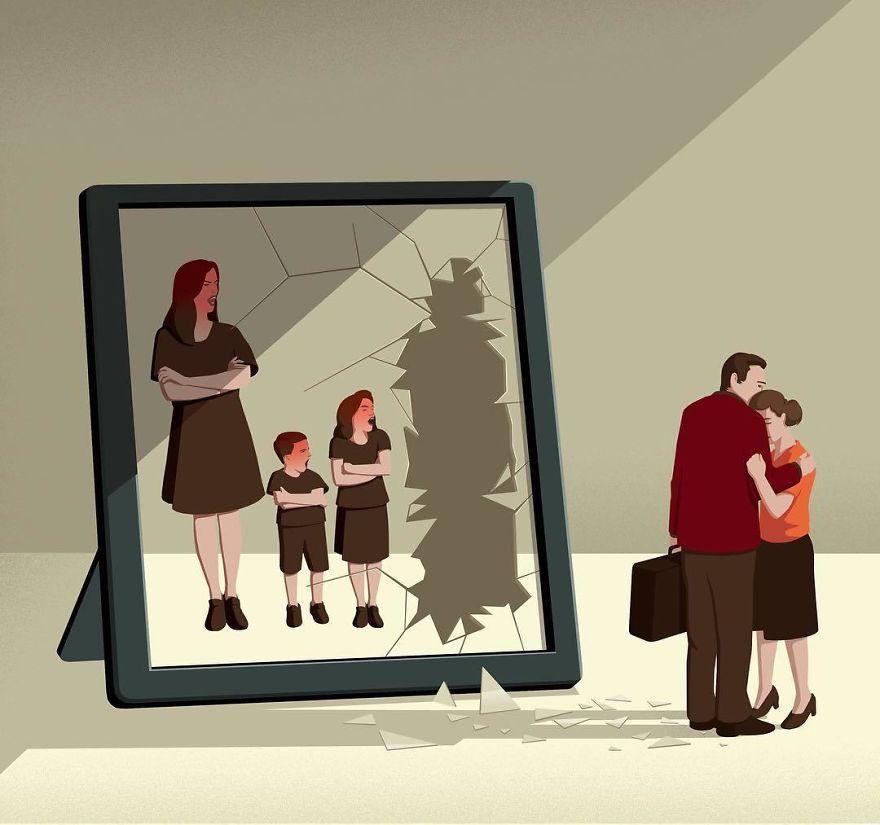 Bộ tranh đúng đến giật mình về cuộc sống hiện đại, ai xem xong cũng thấy mình trong đó - Ảnh 15.