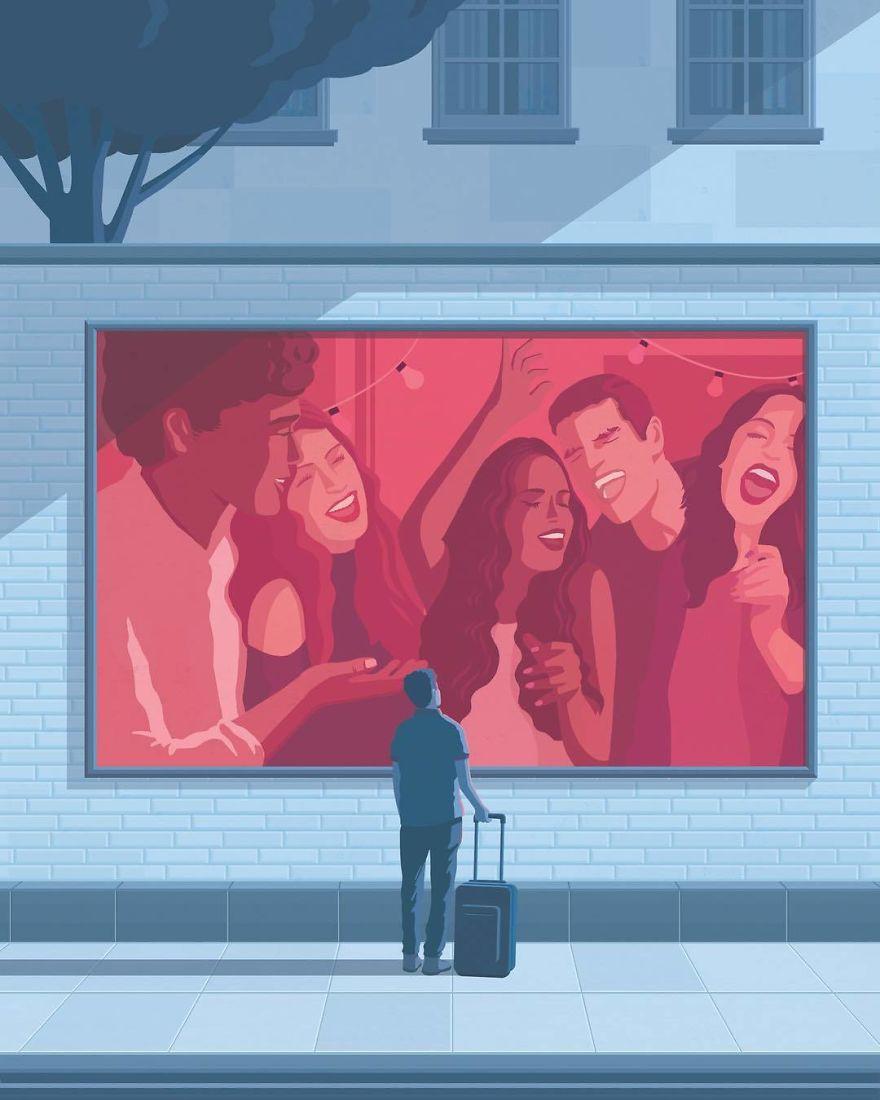 Bộ tranh đúng đến giật mình về cuộc sống hiện đại, ai xem xong cũng thấy mình trong đó - Ảnh 5.