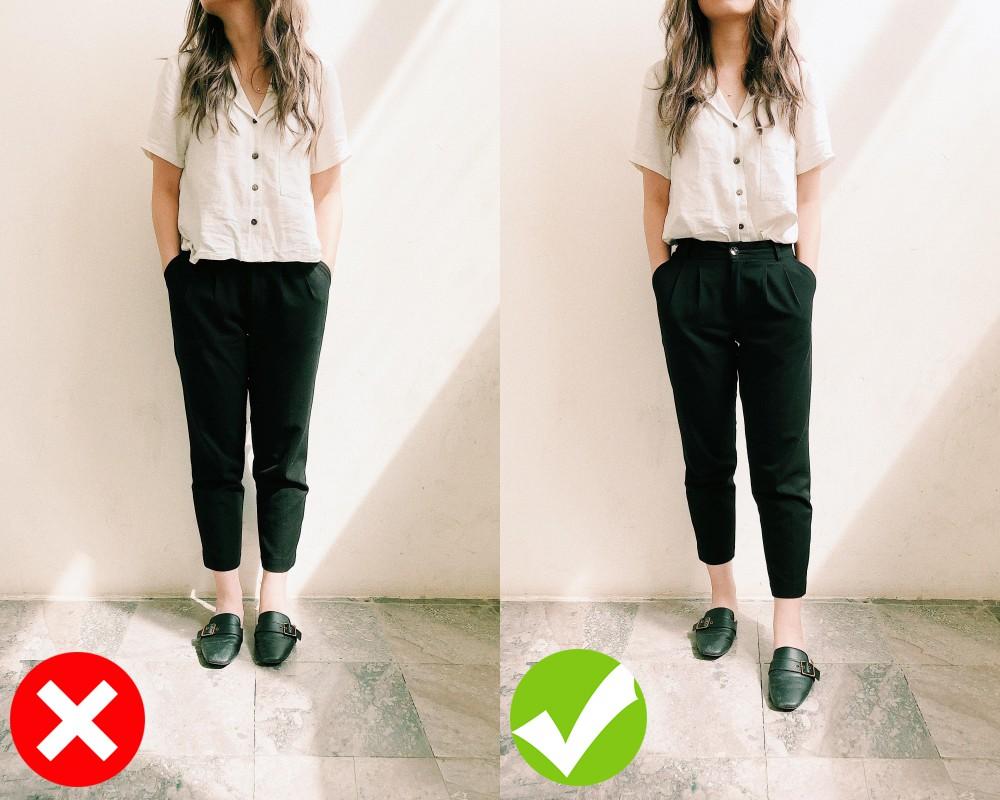 3 cách diện đồ giúp cải thiện chiều cao kể cả khi bạn lười đi giày cao gót - Ảnh 1.