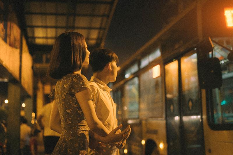 Những khoảnh khắc đẹp đẽ trong tình yêu được ghi lại một cách nhẹ nhàng và nhiều cảm xúc.