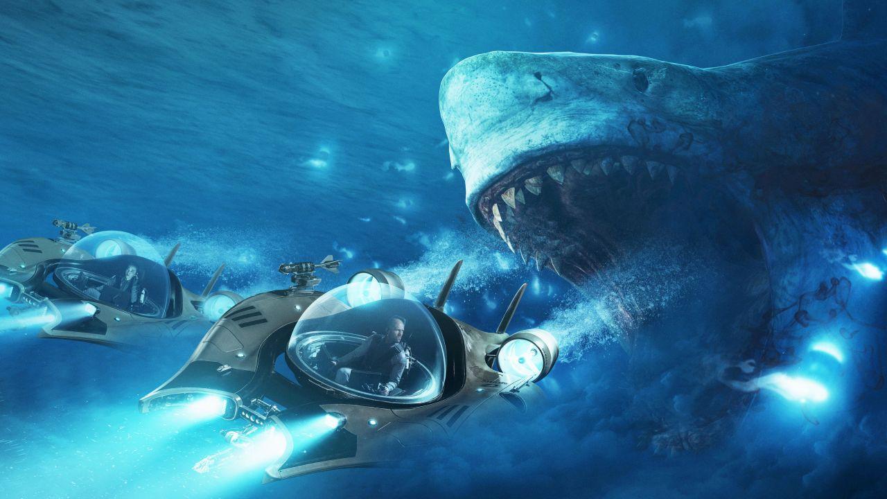 Liệu ngoài đời thật siêu cá mập Megodolon có thể cắn gẫy đôi một chiếc thuyền nặng hàng tấn không? - Ảnh 1.