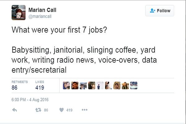 Trào lưu đáng yêu đầy ý nghĩa này xuất phát từ một tài khoản Twitter của nữ ca-nhạc sĩ người Mỹ Marian Call.