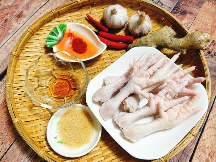 Những món ăn khó cưỡng được chế biến từ chân gà nhìn thôi đã thèm
