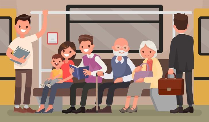 9 quy tắc lịch sự khi trên phương tiện công cộng mà mọi hành khách cần phải ghi nhớ - Ảnh 4.