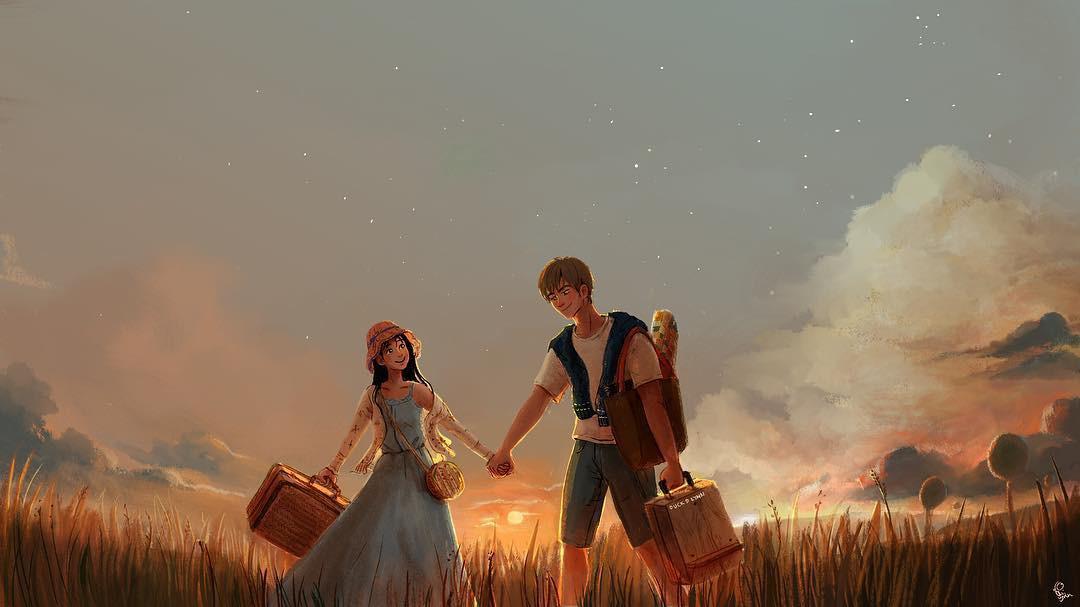 Bộ tranh: Khi tất cả những gì ta ước ao chỉ là một tình yêu bình yên và giản đơn đến thế - Ảnh 15.