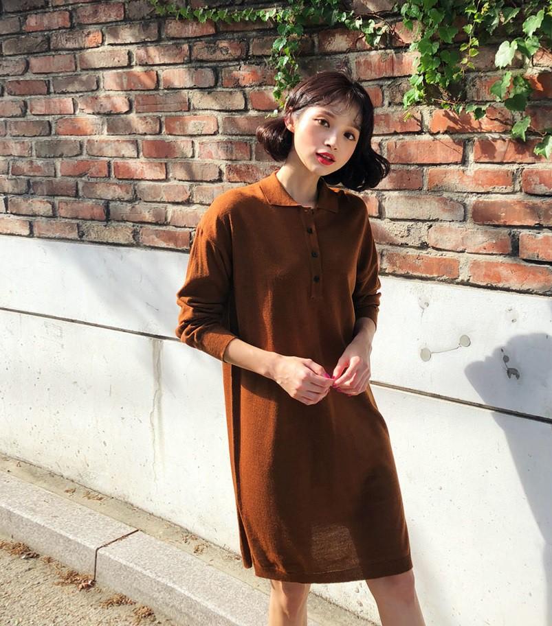 Váy dệt kim – chiếc váy mềm mại, đầy quyến rũ mà các nàng không thể làm ngơ trong những ngày trời se lạnh - Ảnh 15.