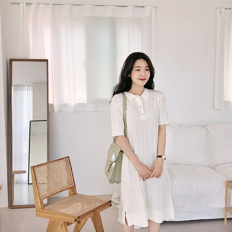 Váy dệt kim – chiếc váy mềm mại, đầy quyến rũ mà các nàng không thể làm ngơ trong những ngày trời se lạnh - Ảnh 7.