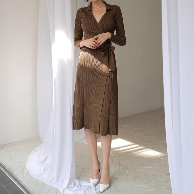 Váy dệt kim – chiếc váy mềm mại, đầy quyến rũ mà các nàng không thể làm ngơ trong những ngày trời se lạnh - Ảnh 10.