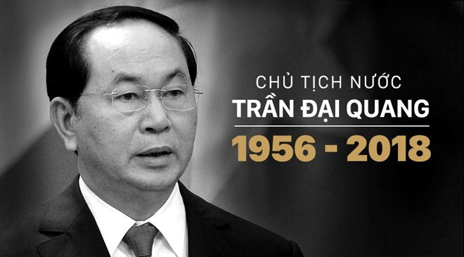 Chủ tịch nước Trần Đại Quang từ trần: Thông tin Quốc tang chủ tịch nước - Ảnh 1.