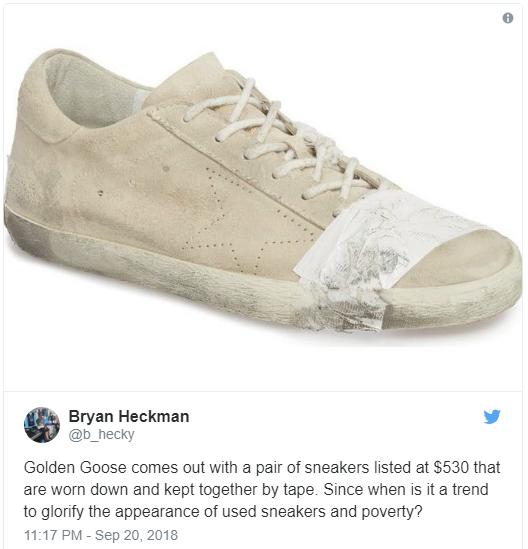 Golden Goose ra sneaker vừa bẩn vừa dán băng dính chằng chịt, cư dân mạng bức xúc: Khác nào chế giễu người nghèo - Ảnh 5.