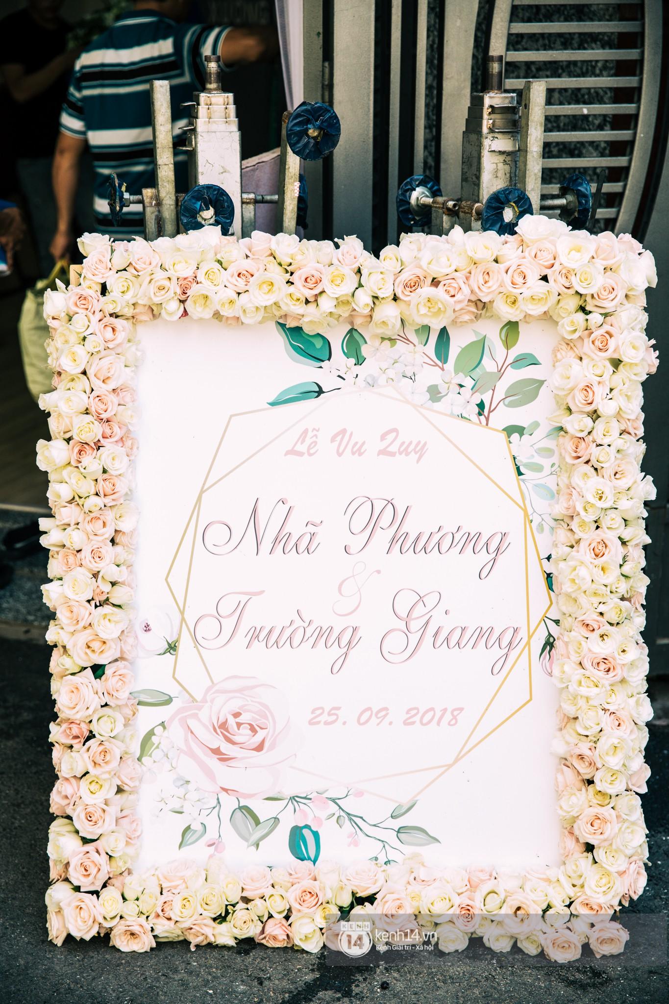 Cưới Trường Giang Nhã Phương: Nhà cô dâu bày trí cho hôn lễ chiều nay - Ảnh 3.