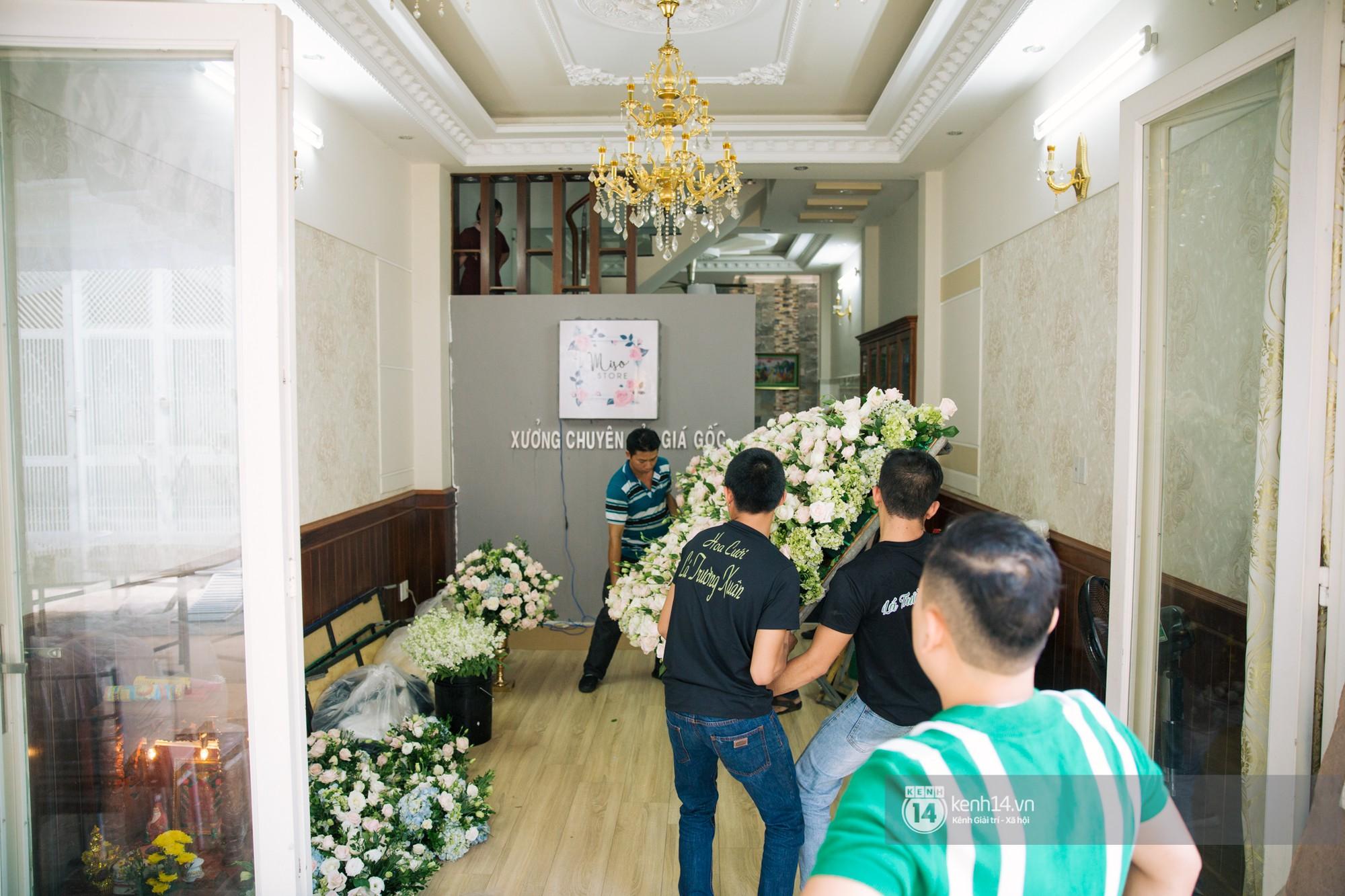 Cưới Trường Giang Nhã Phương: Nhà cô dâu bày trí cho hôn lễ chiều nay - Ảnh 6.